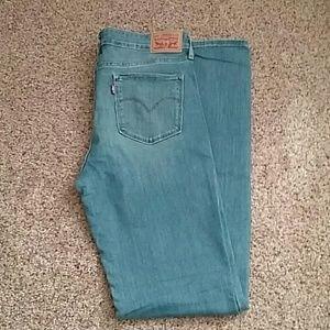 Levis 712 slim jeans size 30 long.